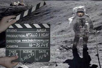 NASA fik hjælp af Hollywood til at forfalske månelandingerne